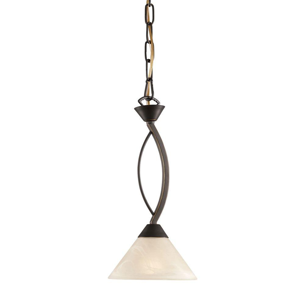 Elysburg 1-Light Oil Rubbed Bronze Pendant