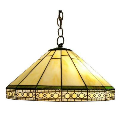 Roman 2-Light Brown Hanging Pendant