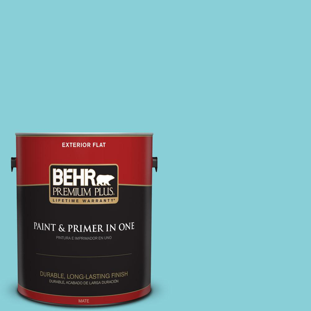 Home Decorators Collection 1-gal. #HDC-MD-14 Sky Watch Flat Exterior Paint