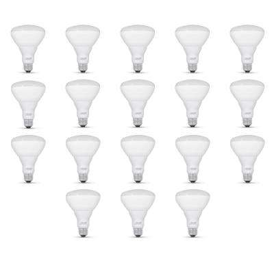 65- Watt Equivalent BR30 Dimmable CEC LED ENERGY STAR 90+ CRI Flood Light Bulb, Bright White (18 Pack)