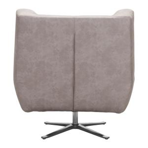 Incredible Zuo Enzo Distressed Gray Occasional Chair 101006 The Home Machost Co Dining Chair Design Ideas Machostcouk