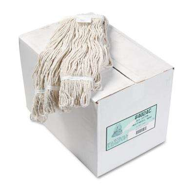 Cotton Pro Loop Web/Tailband Wet Mop Head (12-Carton)