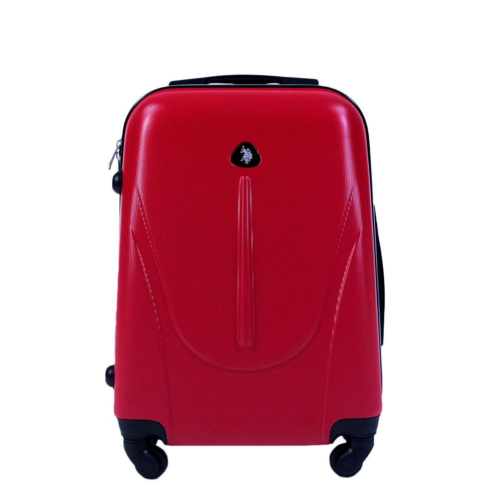 28927b5c6d9c U.S. Polo Assn. U.S Polo Assn. 21 in. Red Carry-On Luggage Spinner ...