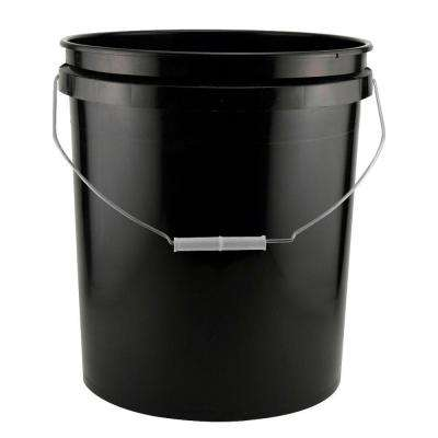5-Gal. Black Project Bucket (204-Pack)