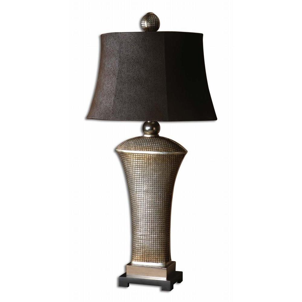 Global Direct 36.5 in. Afton Champagne Table Lamp
