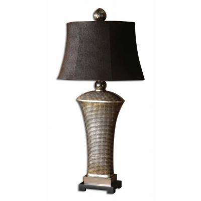 36.5 in. Afton Champagne Table Lamp