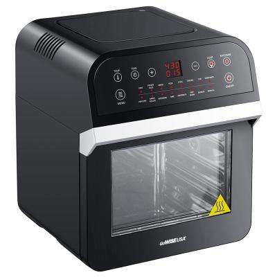 12.7 Qt. Electric Air Fryer Oven with Accessories (Black)