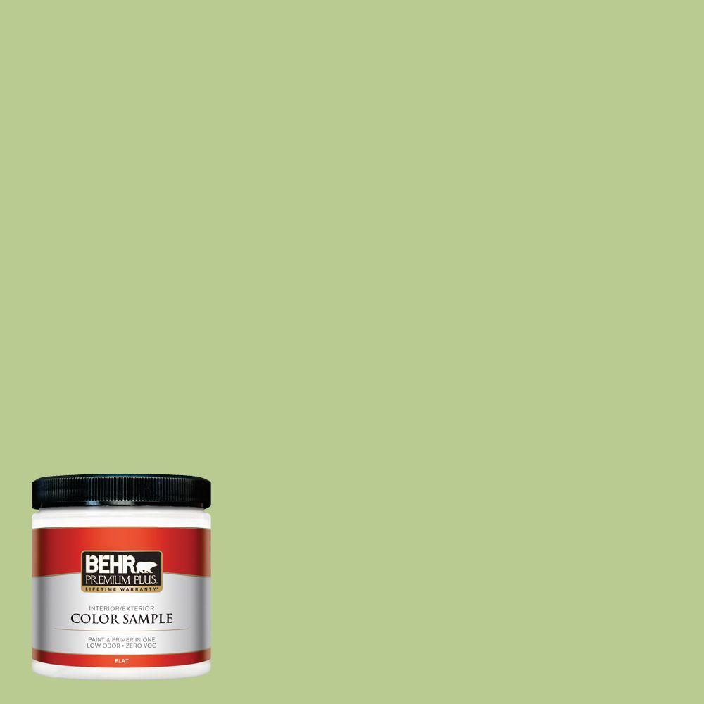 BEHR Premium Plus 8 oz. #420D-4 Marsh Fern Interior/Exterior Paint Sample