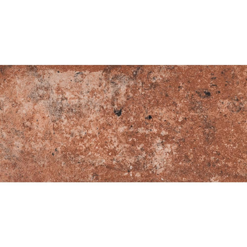 Msi Capella Red Brick 5 In X 10 In Glazed Porcelain Floor And Wall