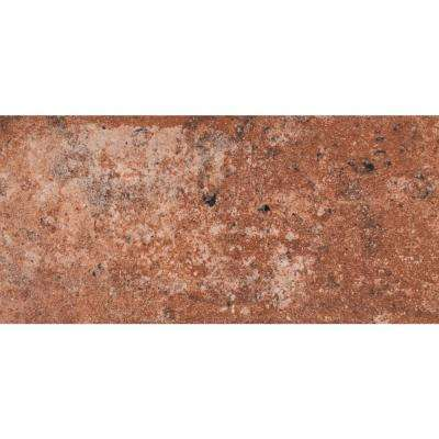 Capella Red Brick 5 in. x 10 in. Glazed Porcelain Floor and Wall Tile (5.55 sq. ft. / case)