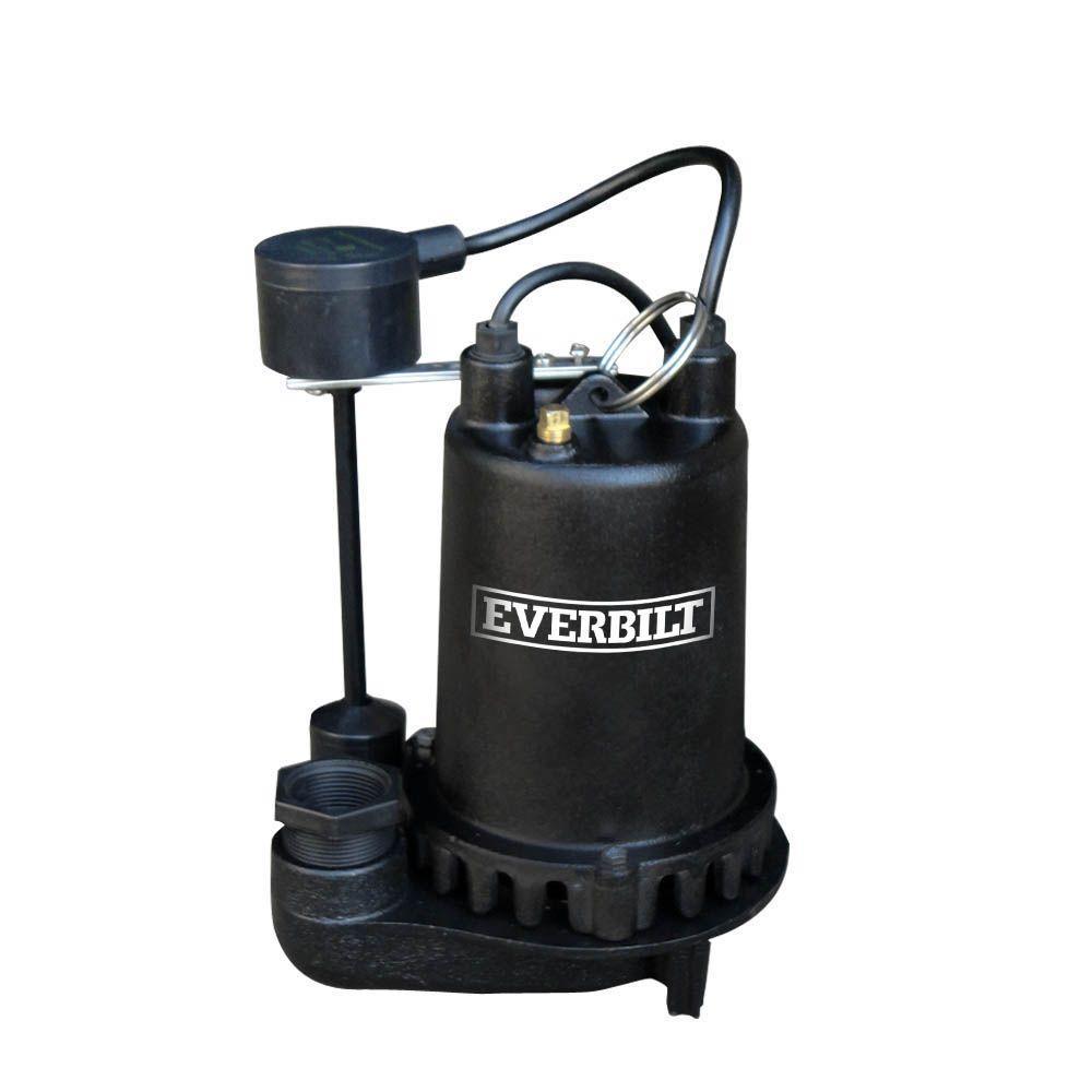 Everbilt 1 Hp Professional Sump Pump Pssp10001vd The