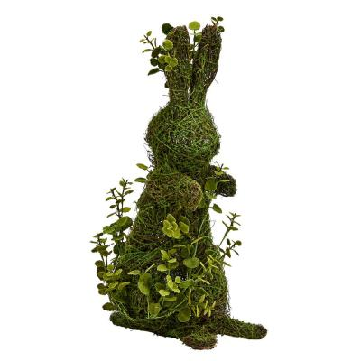21 in. Standing Mossy with Bunny