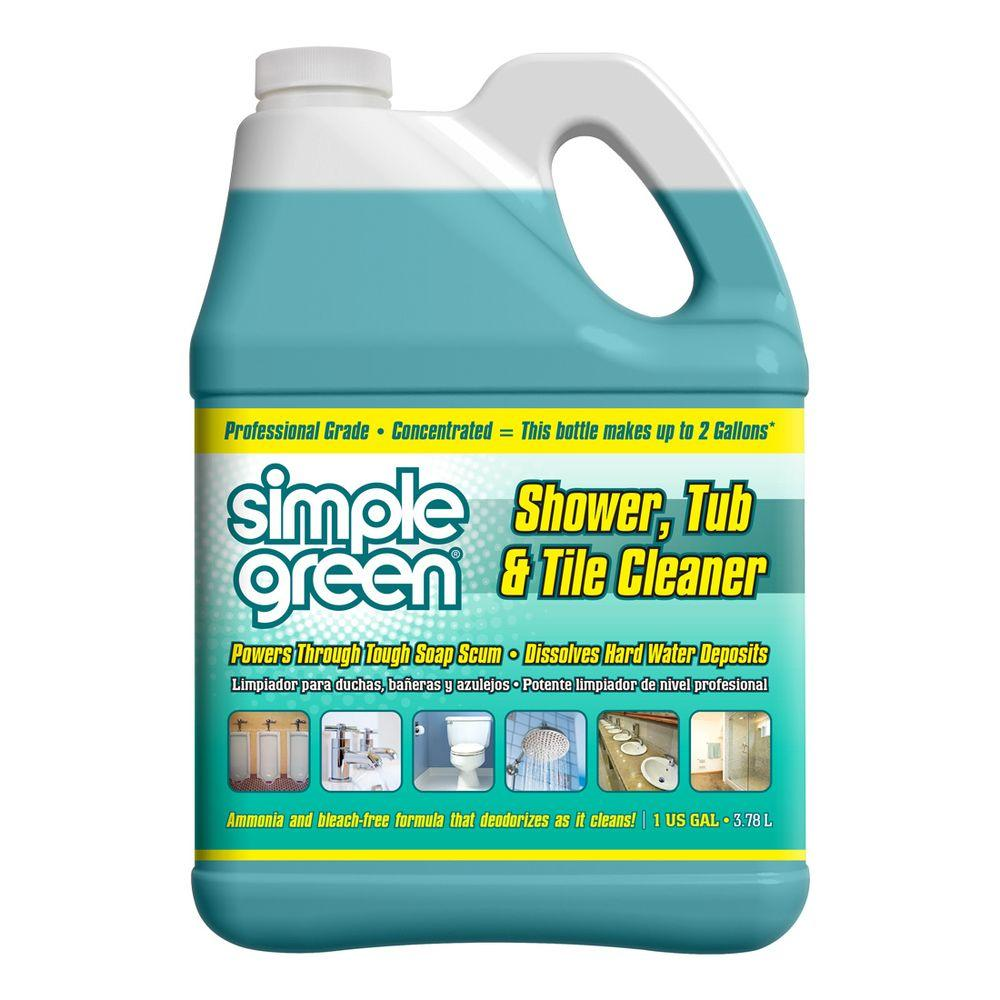 Tub Shower Cleaners Bathroom Cleaners The Home Depot - Cleaning agent for tiles