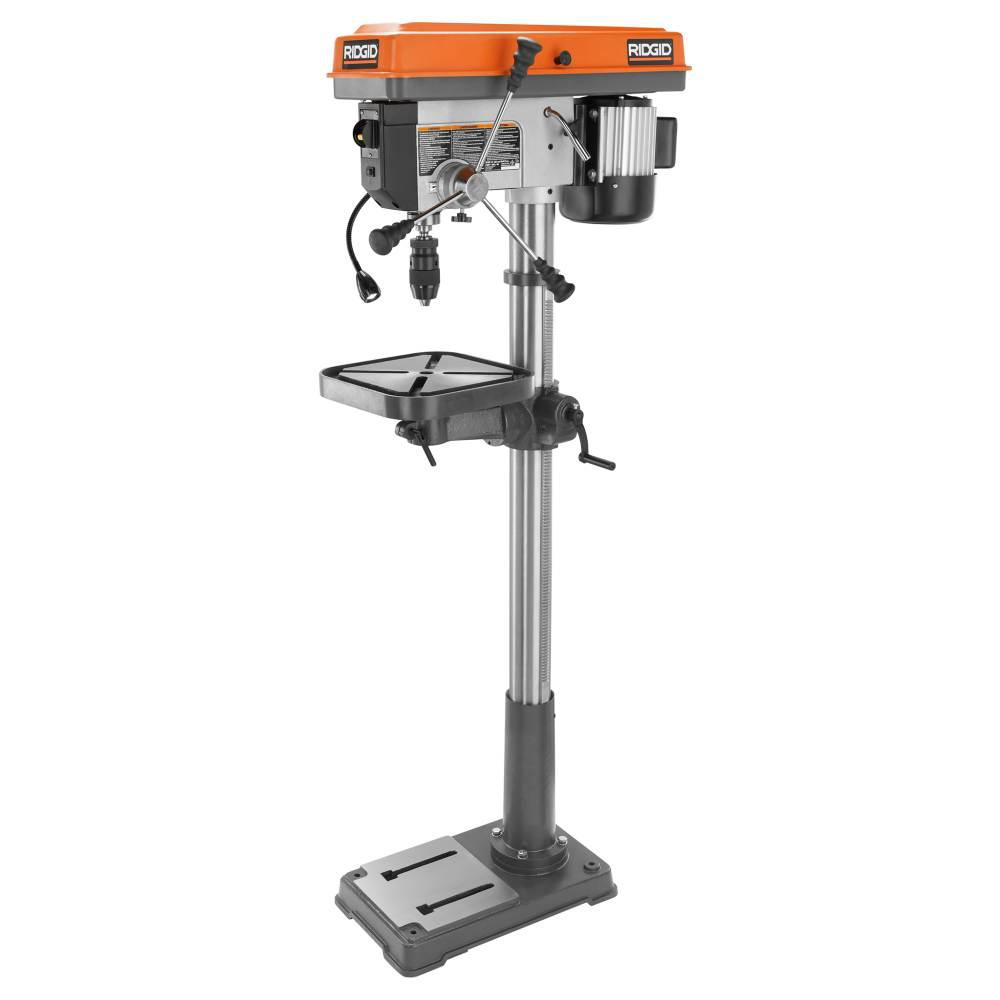 RIDGID 15 in. Drill Press with LED