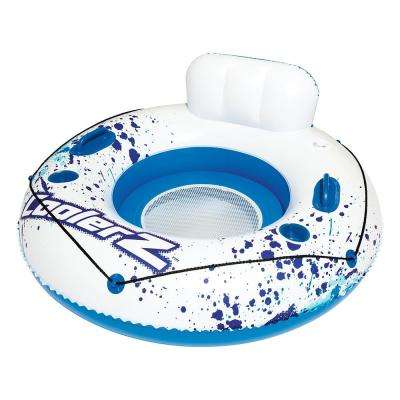 47 in. CoolerZ Luxury Inflatable Tube for Swimming Pools