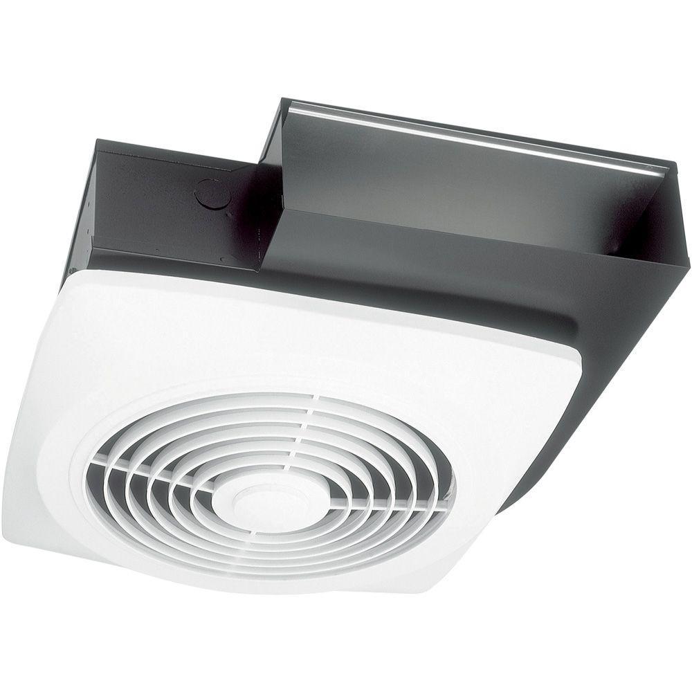 NuTone Exhaust Fan 6.5 Sones White Vertical Discharge Ceiling Ventilation Fan 210 CFM 7