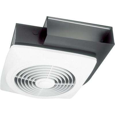 160 Cfm Wall Ceiling Side Discharge Exhaust Fan