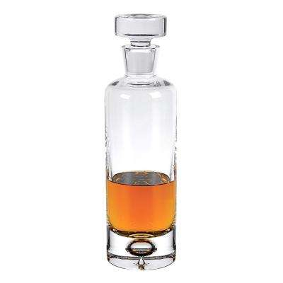 28 oz. 11 in. High Galaxy European Mouth Blown Lead Free Crystal Decanter