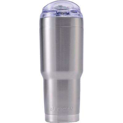 32 oz. Slide Lid Tumbler in Silver