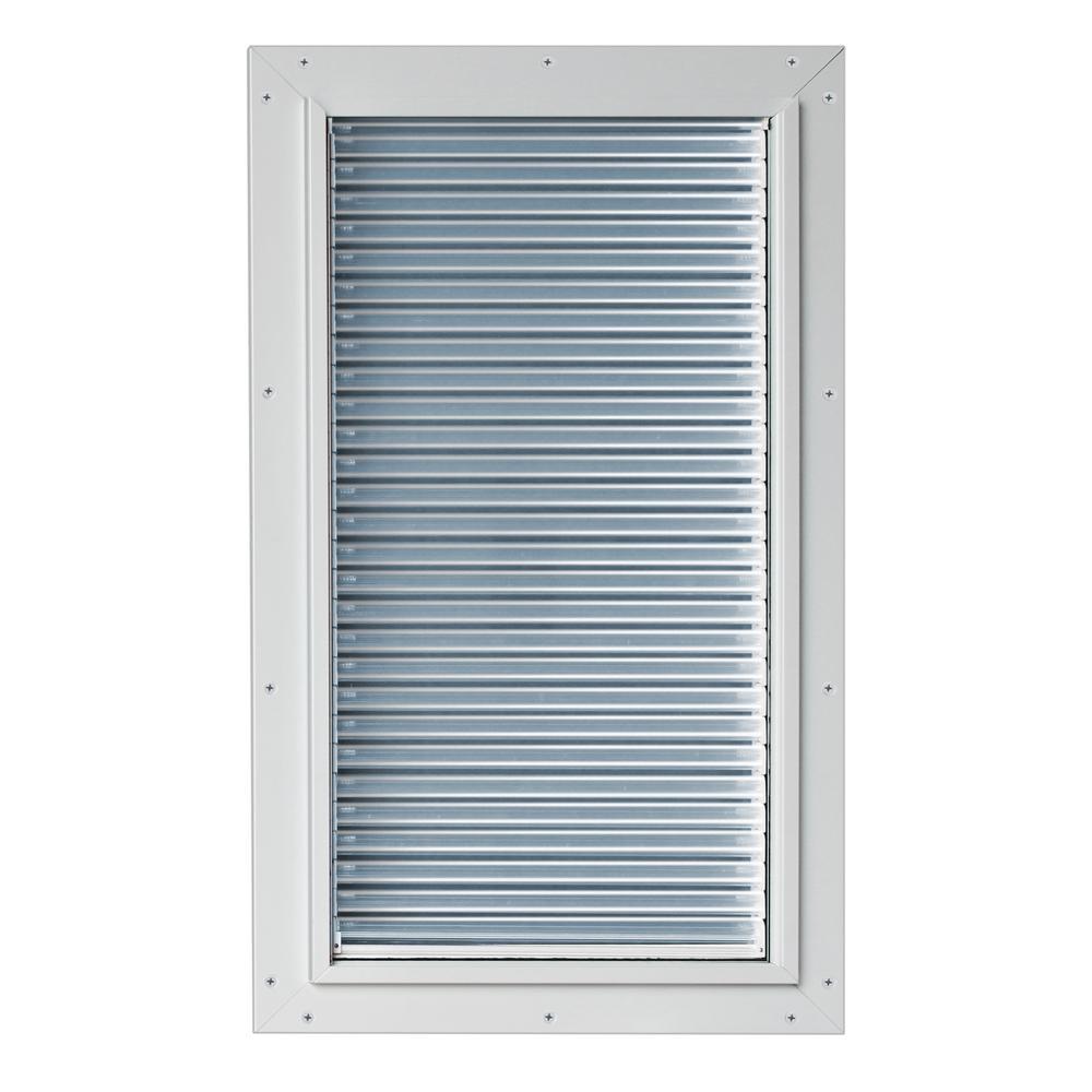 10-1/2 in. x 21 in. Armor Flex Weather Energy Efficient Pet Door with Magnetic Closure for Doors or Walls