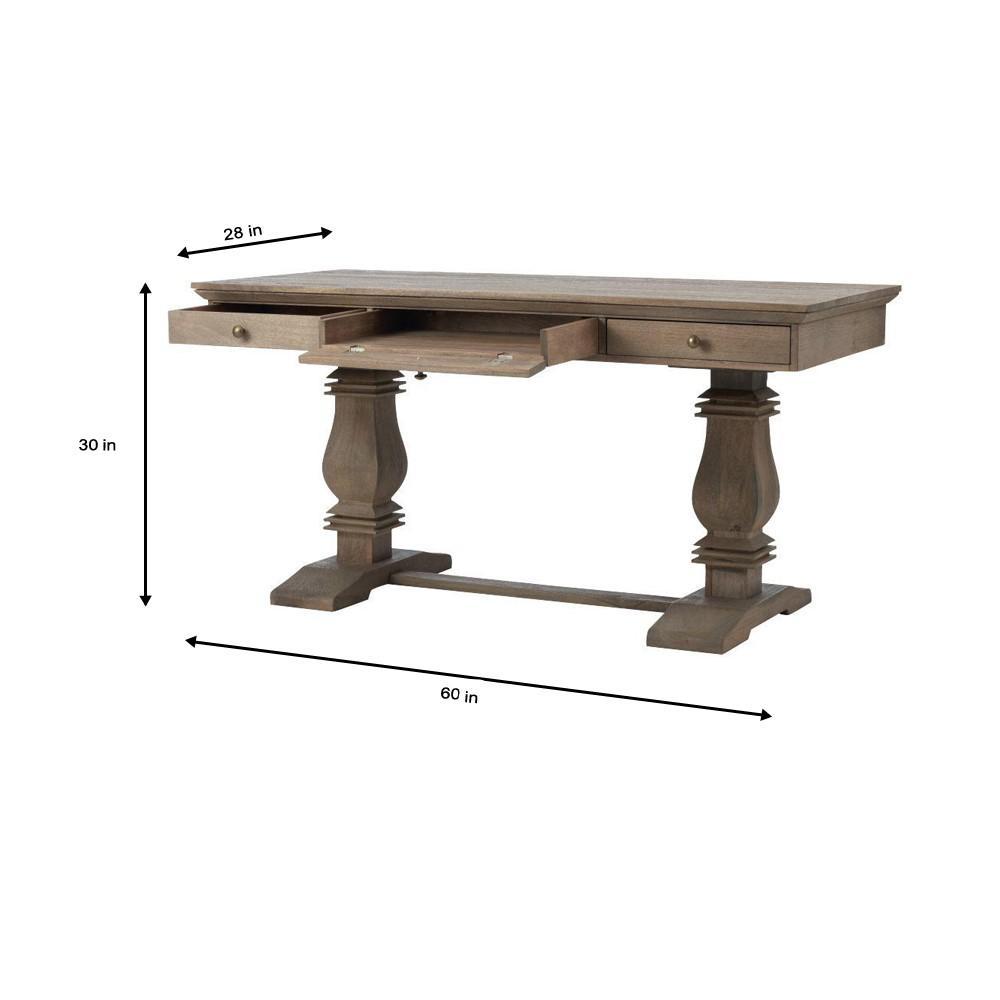 Enjoyable Home Decorators Collection Aldridge Antique Grey Desk With Alphanode Cool Chair Designs And Ideas Alphanodeonline