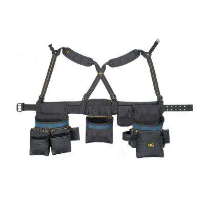28-Pocket Carpenters Ballistic Tool Holster Combo Rig (6-Piece)