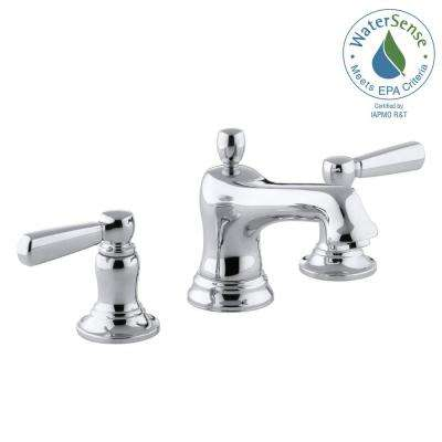 Bancroft 8 in. Widespread 2-Handle Low-Arc Bathroom Faucet in Chrome