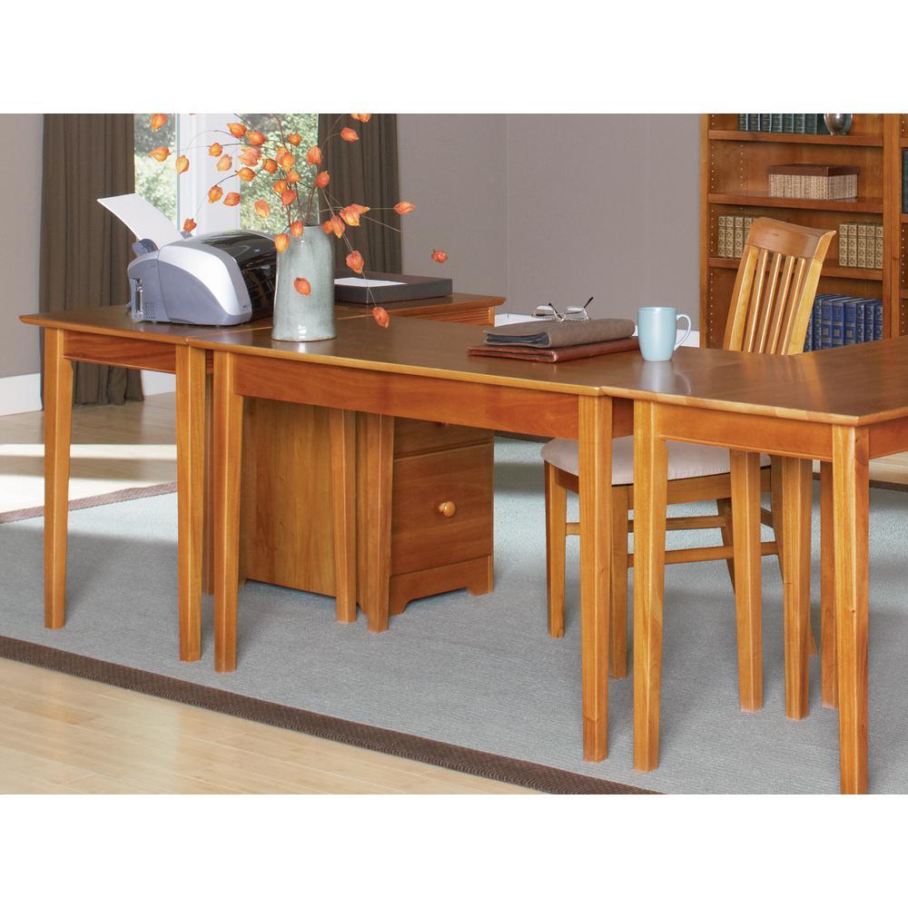 Incroyable Internet #304854895. Atlantic Furniture Shaker Caramel Latte Writing Desk