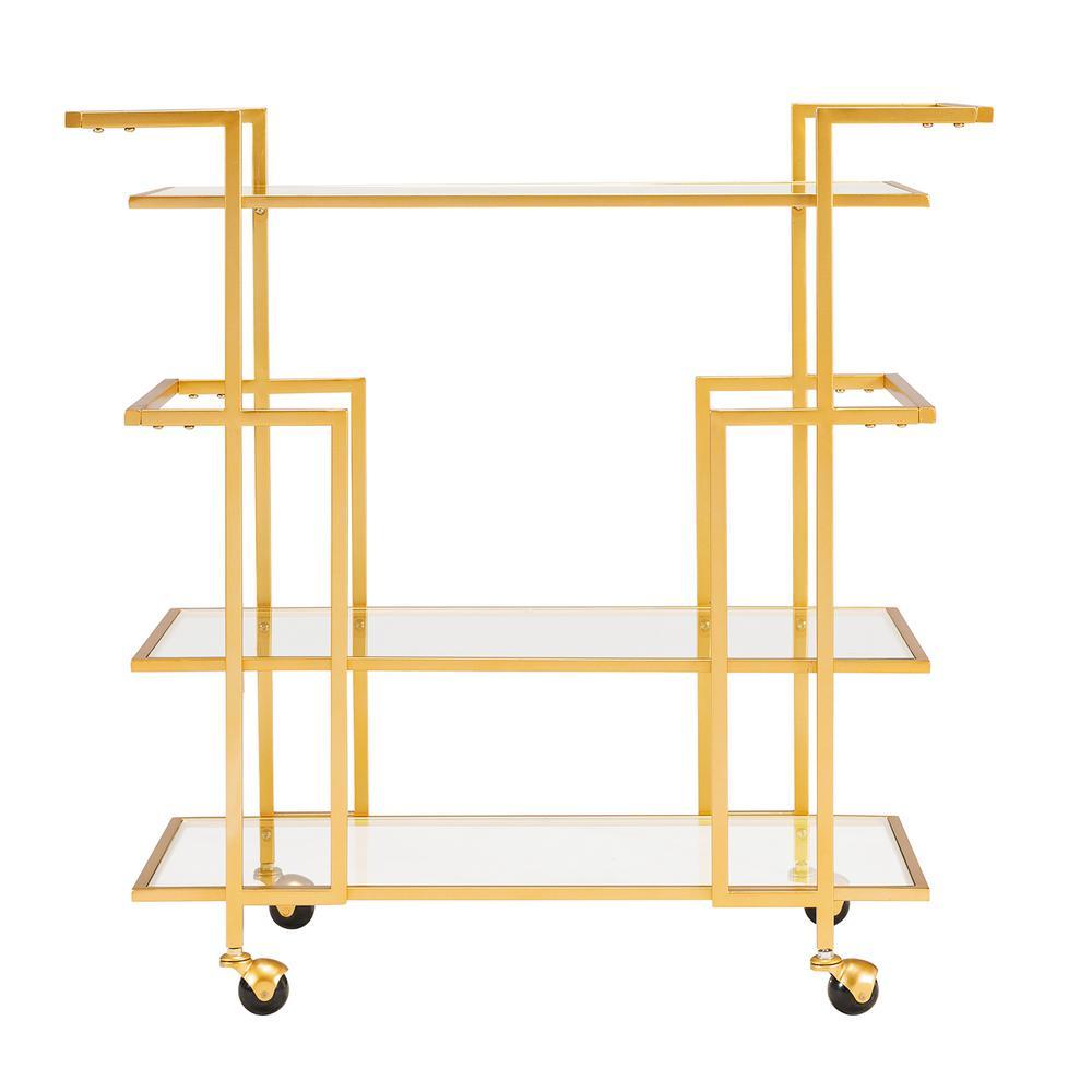 Southern Enterprises Della Art Deco Bar Cart HD523927