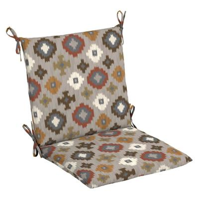 20 in. x 20 in. Manistree Moonrock Outdoor Mid Back Chair Cushion (2-Pack)