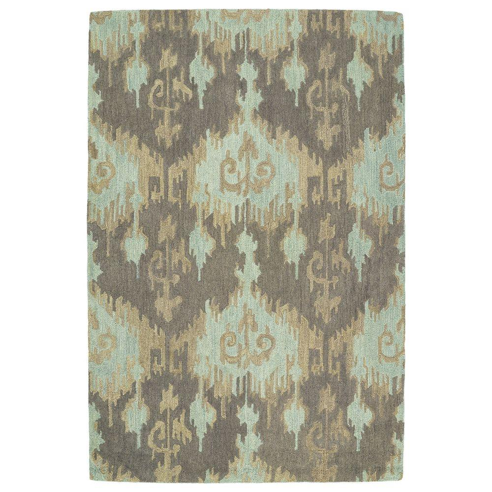 Kaleen Casual Mint 8 Ft X 11 Area Rug