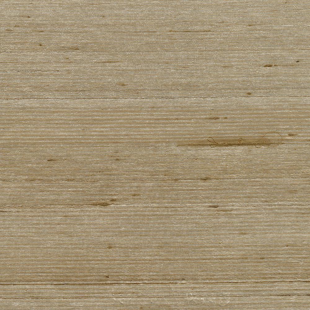 8 in. x 10 in. Makati Bronze Silk Weave Wallpaper Sample