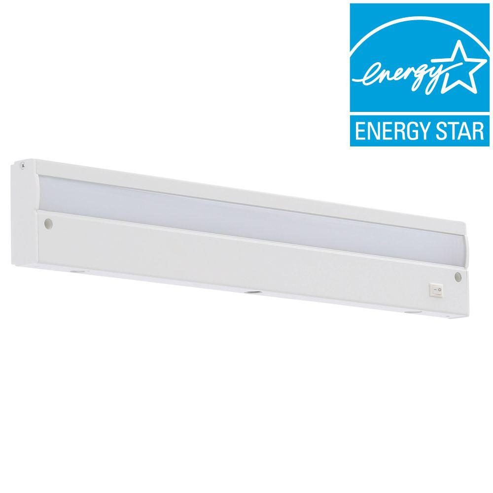 Commercial Electric 18 in. LED Direct Wire Under Cabinet Light ...