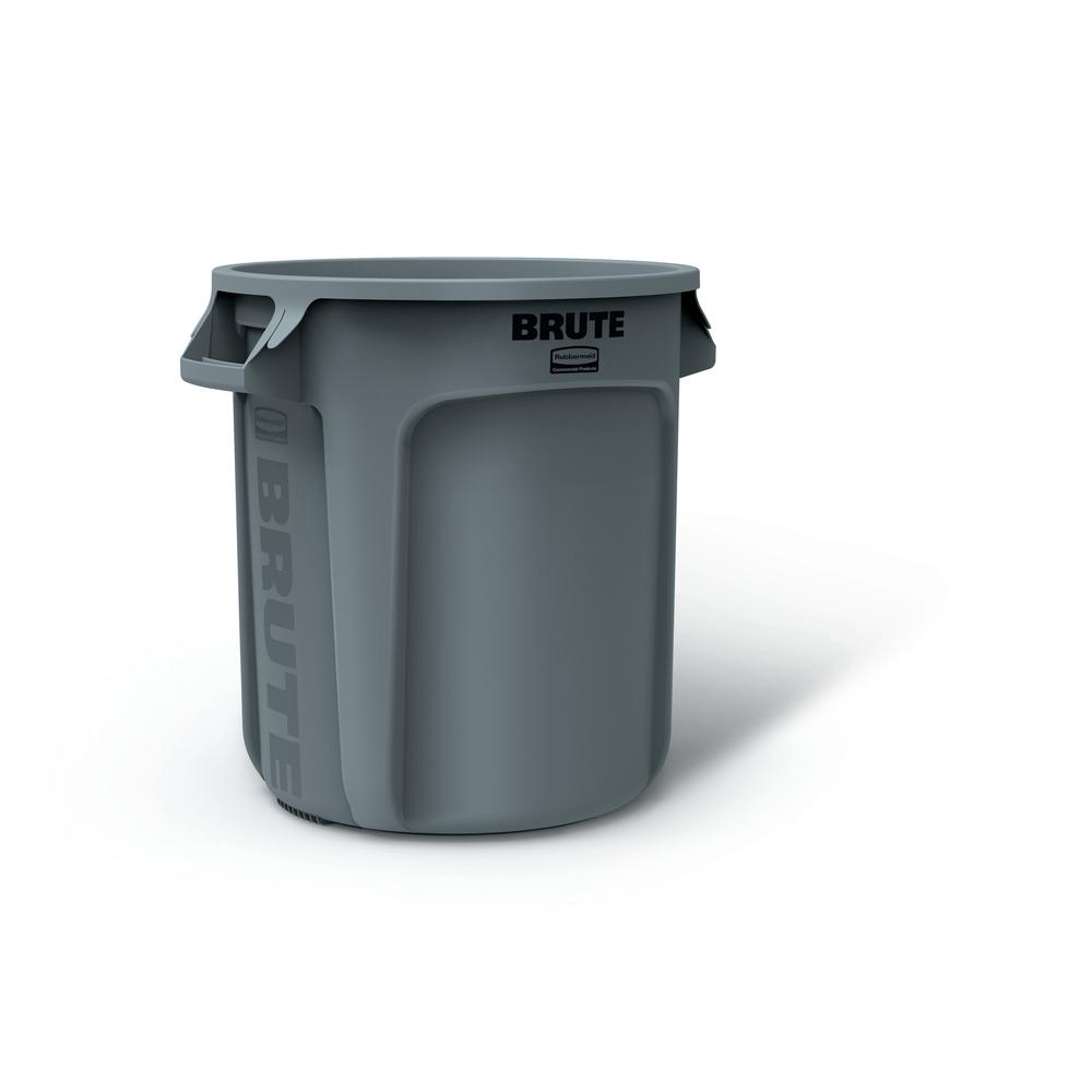 Brute 10 gal. Round Trash Can without Lid