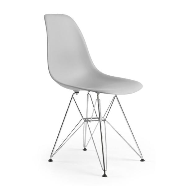 Poly and Bark Padget Harbor Grey Side Chair HD-104-CRM-HRGY
