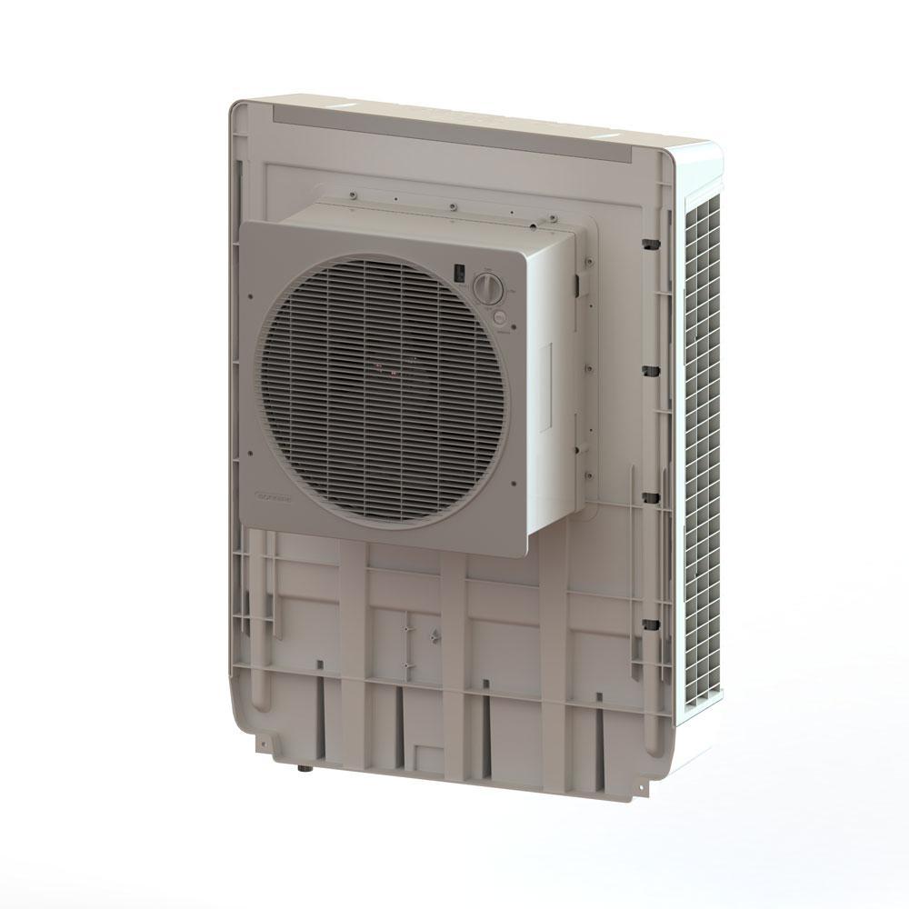 Portable Evaporative Coolers Home Depot : Bonaire durango cfm speed window evaporative