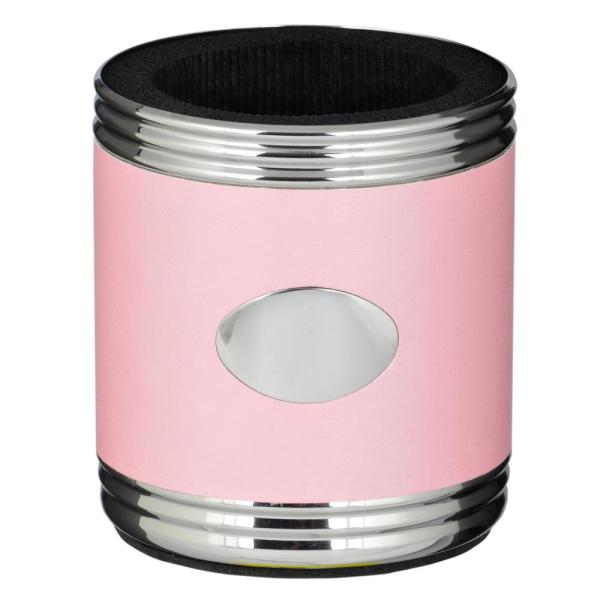 Visol Taza Pink and Stainless Steel Can Holder