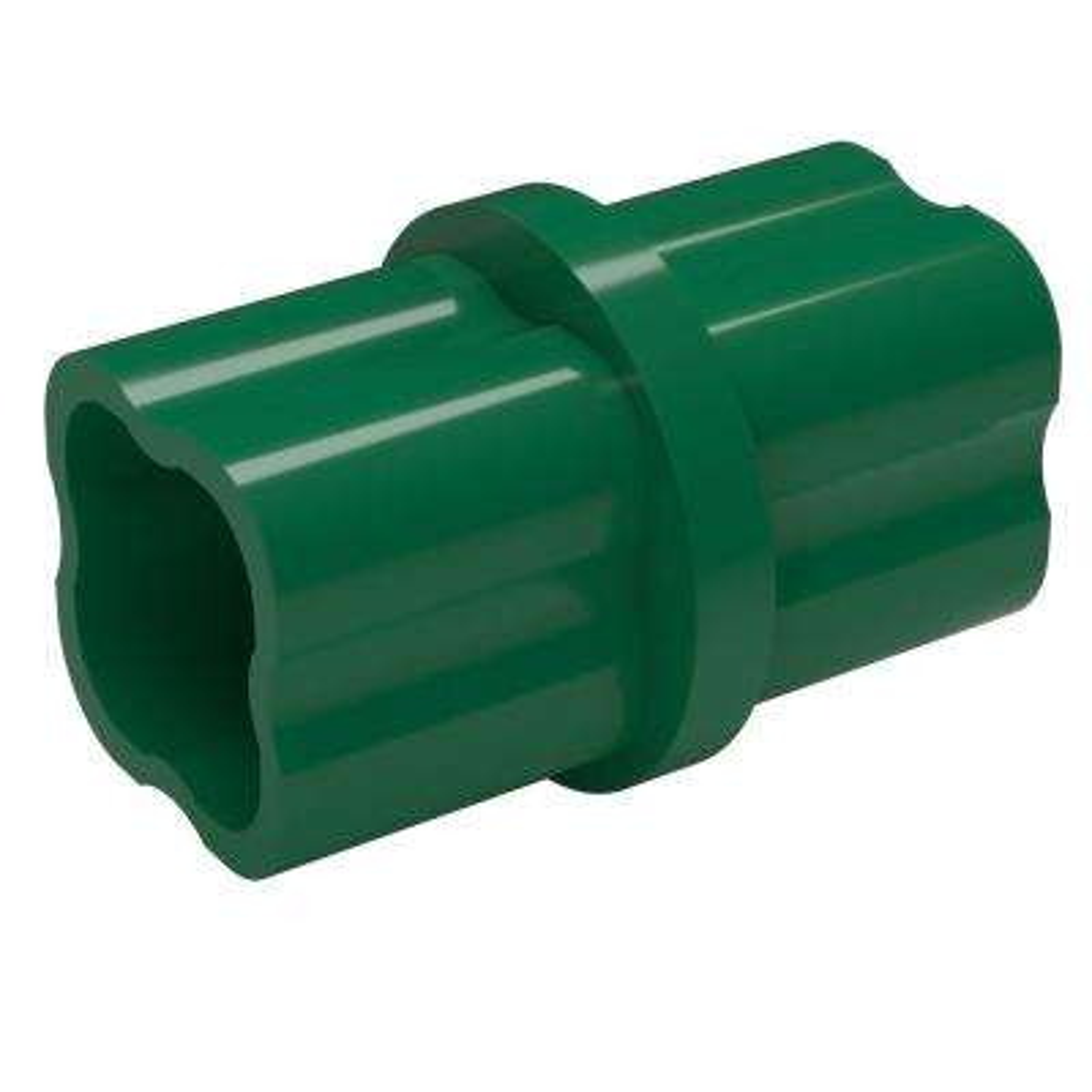 1-1/4 in. Furniture Grade PVC Sch. 40 Internal Coupling in Green (10-Pack)