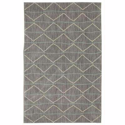 Spencer Slate 9 ft. x 12 ft. Indoor Area Rug