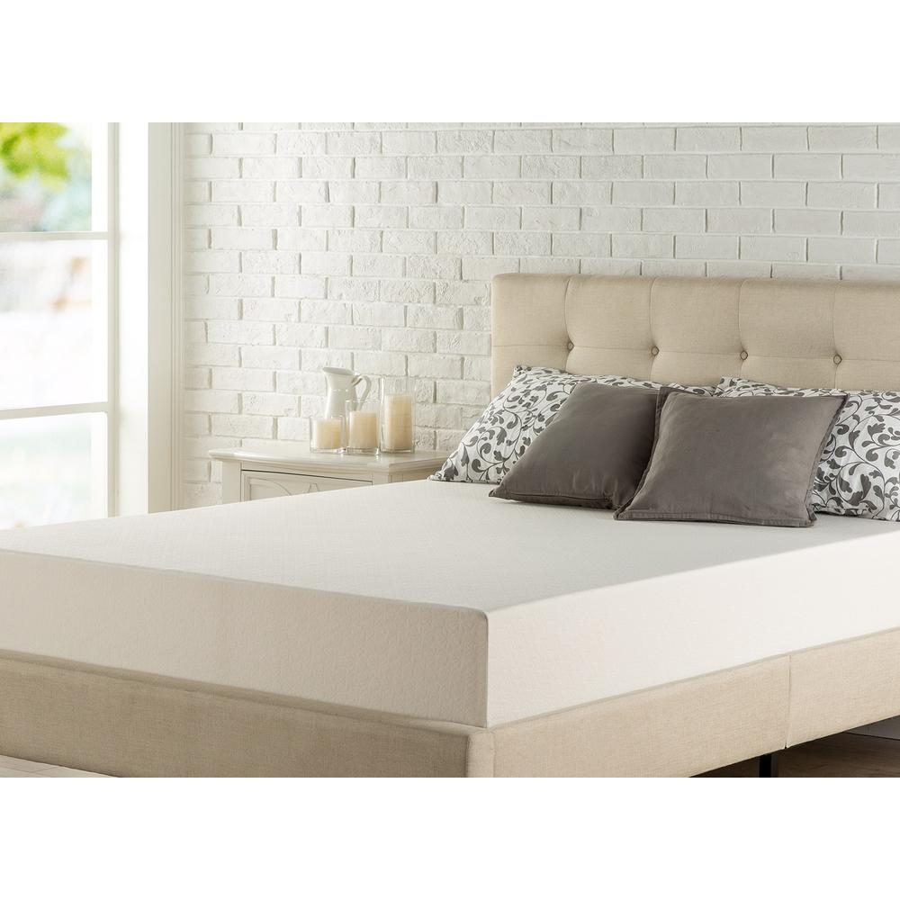 King Medium Memory Foam Mattress. Zinus   Mattresses   Bedroom Furniture   The Home Depot