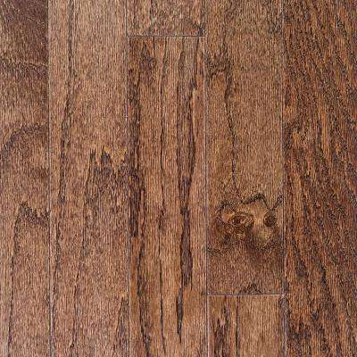 Oak Bourbon 3/4 in. Thick x 2-1/4 in. Wide x Random Length Solid Hardwood Flooring (18 sq. ft. / case)