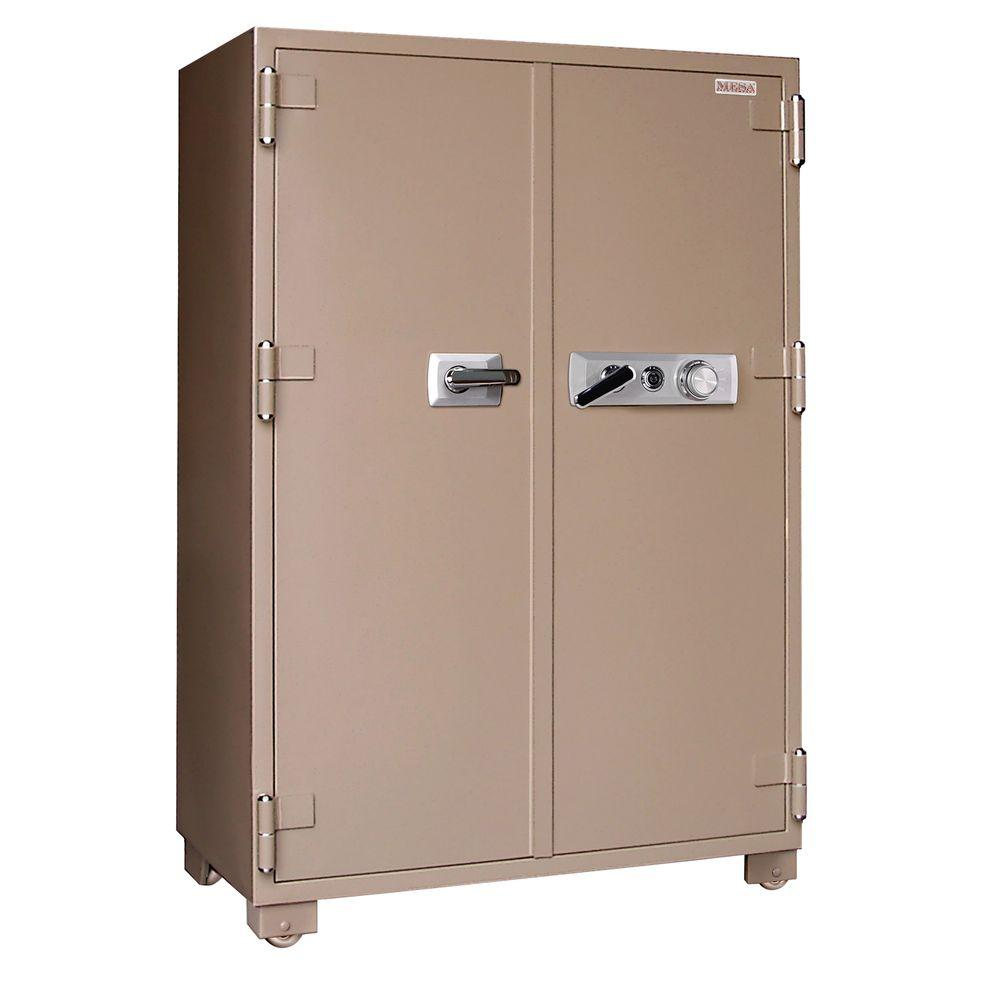 MESA 20.7 cu. ft. Fire Resistant Combination Lock 2 Hour Fire Safe with Double Doors
