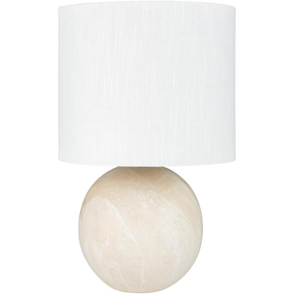 Rhys 21.5 in. White Indoor Table Lamp