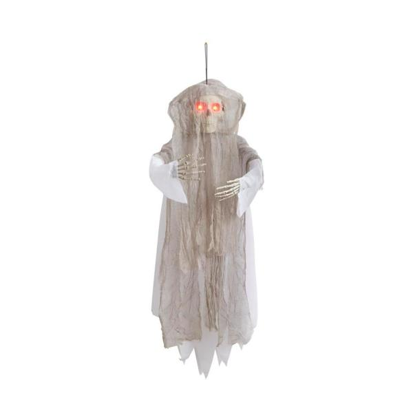 4 ft. Animated LED Hanging Grim Reaper