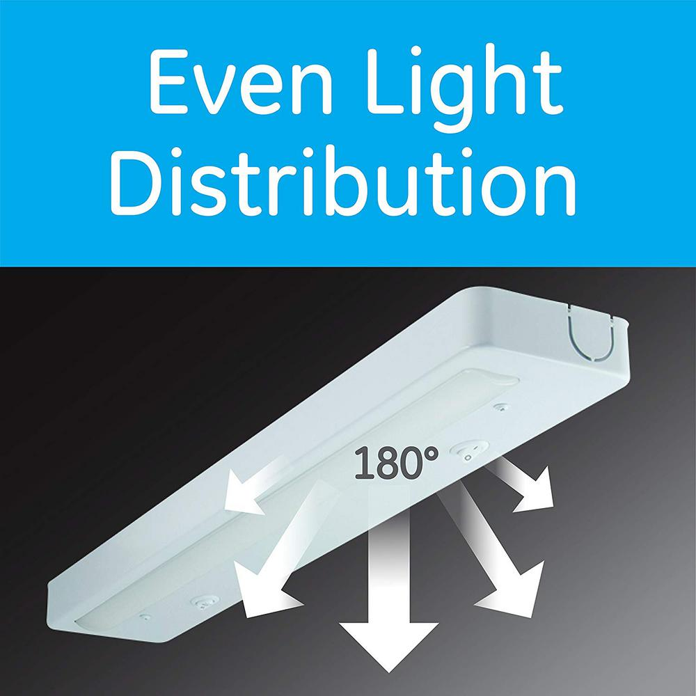 GE Enbrighten 24 in. LED Direct Wire Under Cabinet Light on