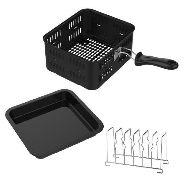 GoWISE USA 3-Piece Accessory Kit for Air Fryer Ovens