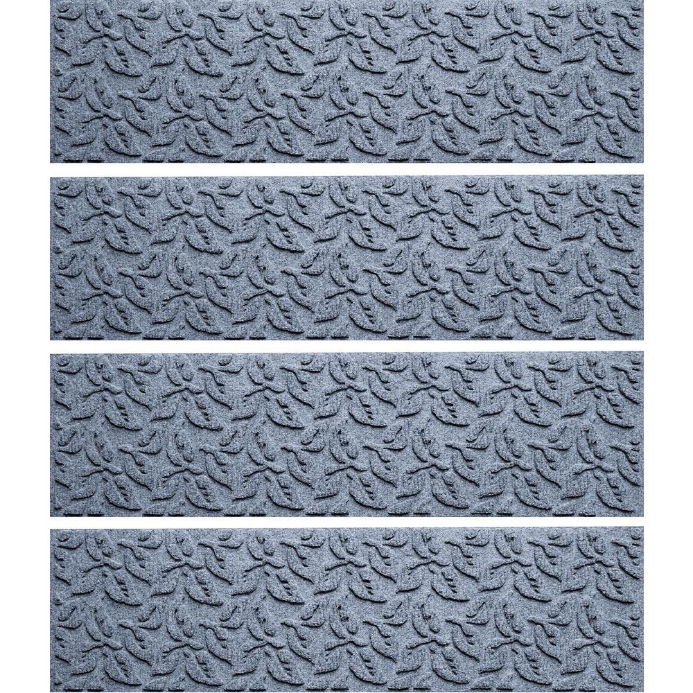 Aqua Shield Bluestone 8.5 In. X 30 In. Dogwood Leaf Stair Tread Cover (