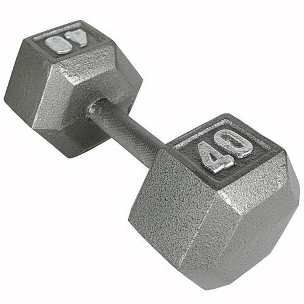 Weider 40 lb. Hex Dumbbell