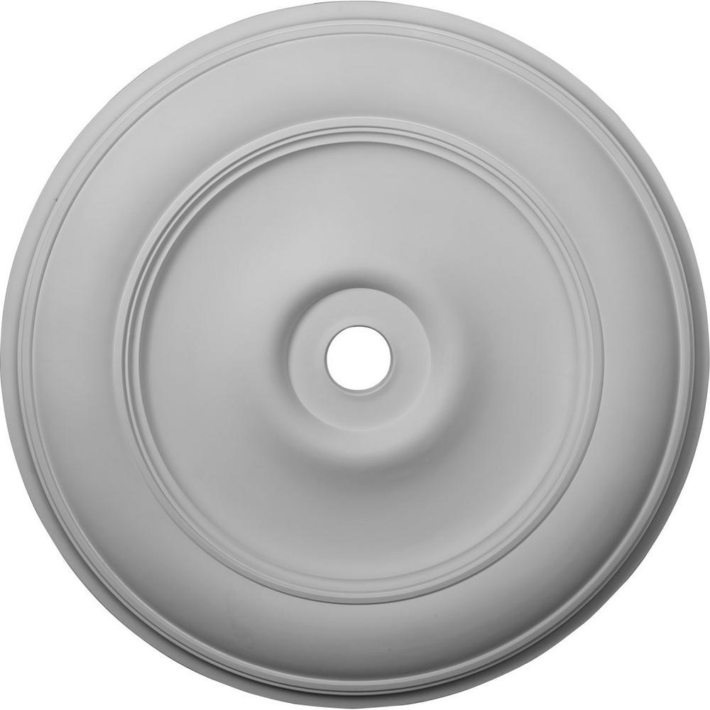 44-1/2 in. OD x 4 in. ID x 4 in. P (Fits Canopies up to 8-1/4 in.) Classic Ceiling Medallion