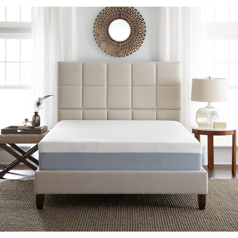 California King Medium to Firm Gel Memory Foam Mattress